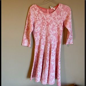 Francesca's Pink Dress Size Medium D10